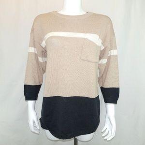 Vintage Thackery Dip Hem Sweater Made in USA